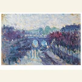 Le Pont Neuf Et Le Petit Bras De La Seine