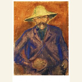 Man With Straw Hat