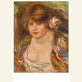 Femme À La Rose, Andrée