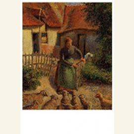 Shepherdess Bringing In Sheep, 1886