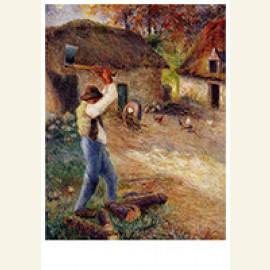 Pere Melon Cutting Wood, 1880