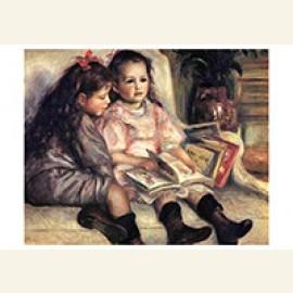 Portraits Of Two Children