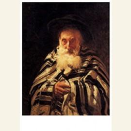 Joodse man biddend, 1875