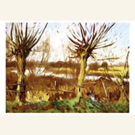 Landscape With Trees, Calcot