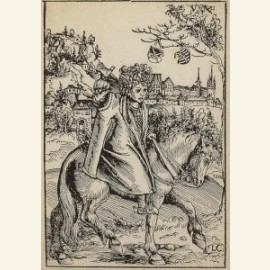 Een Saksische prins te paard, A Saxon Prince on Ho
