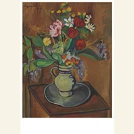 Bouquet De Fleurs Dans Une Cruche