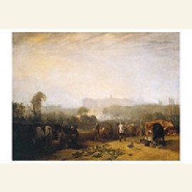 Ploughing Up Turnips, Near Slough
