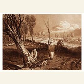Heggen en greppels, omstreeks 1860
