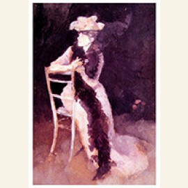 Rose And Silver Portrait Of Mrs Whibley, 1894-1895