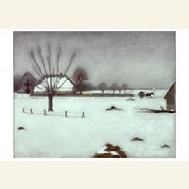 Winter in Eerbeek, 1917