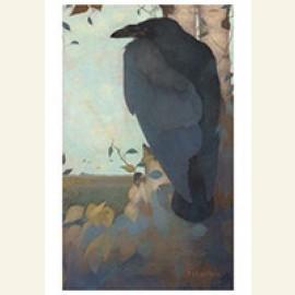 Kraai op berkenboom, 1913
