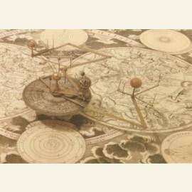 Planetarium van voor 1789 met Mercurius, Venus, Aa
