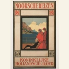 Affiche Koninklijke Hollandsche Lloyd