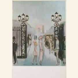 Porte Dauphine, 1924-25