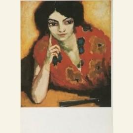 De vinger aan de wang, Le doigt sur la joue, 1910