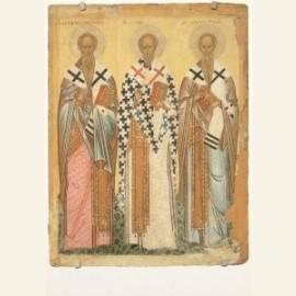 The selected Saints: St. James, St. Nicholas, St.