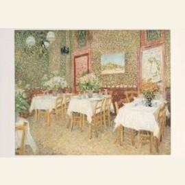 Interieur van een restaurant, 1887
