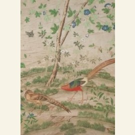Chinees behang, eind 18e eeuw