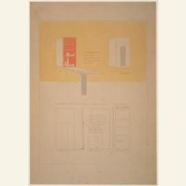 G.Rietveld/Wandkast/CMU