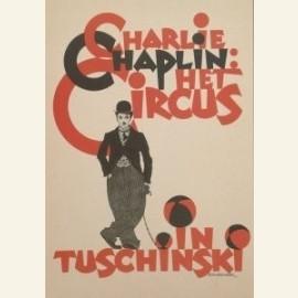 Chaplin, Het Circus, 1928 (affiche)