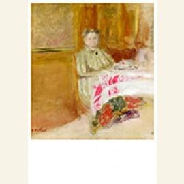 Madame Vuillard at Table, 1900