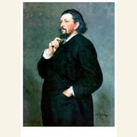 Portrait of Music Editor and Patron Mitrofan Petrovich Belya