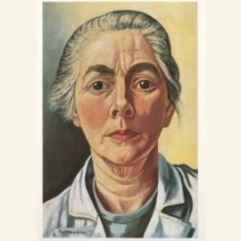 Zelfportret, 1953-54
