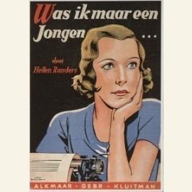 Was ik maar een jongen... (1933), geschreven door