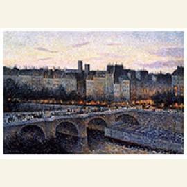 Quai de l'École, Paris, Evening, 1889