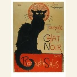 Tournee du Chat Noir avec Rodolphe Salis, 1896