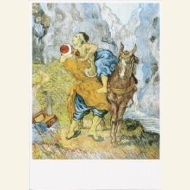 De goede Samaritaan (naar Delacroix)