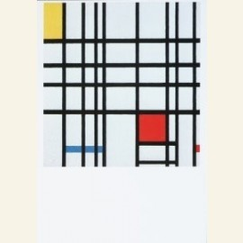 Composition with red, yellow and blue 1939, 1942