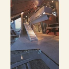 Groninger Museum, oostvleugel, interieur nivo 0: g