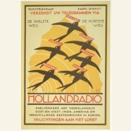 L.Kalff/Affiche Holland Radio