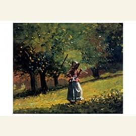 Girl with a Hay Rake, 1878