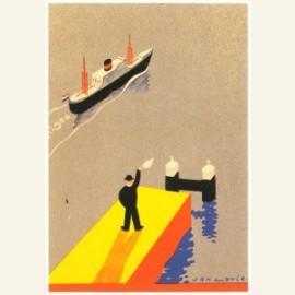 J. Lavies/ Omslag afvaartlijst