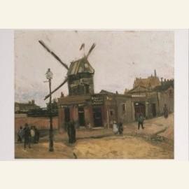 Montmartre, Moulin de la Galette, 1886