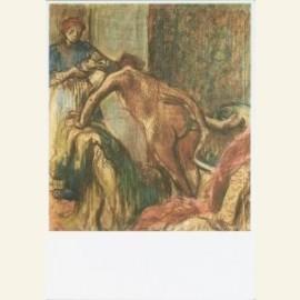 E.Degas/Breakfast after the Ba