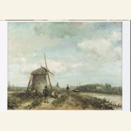 Jaagpad aan de Trekvliet bij Den Haag, 1859