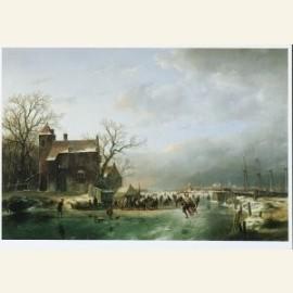 Winterlandschap, 1858
