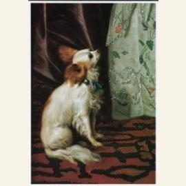 Portret van een Dame (detail)