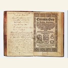 Geuzenliedboek, titelpagina, Een nieu Geusen liede