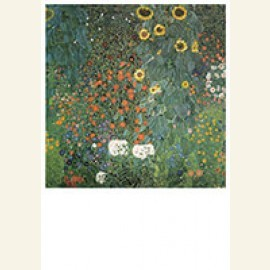 Bauerngarten mit Sonnenblumen, 1907