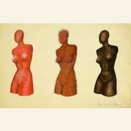 Drie vrouwentorsen