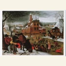 Winterlandschap, tweede kwart 16e eeuw