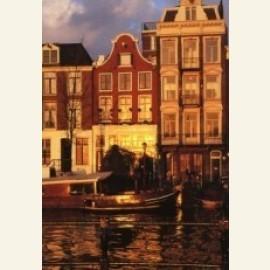 Golden Sunset, Amsterdam
