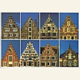 Dutch Gable-Types: 8 Step-gables