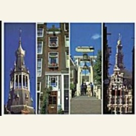 Four Narrow Scenes of Amsterdam