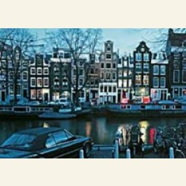 Amsterdam by night / Hijgend Hert