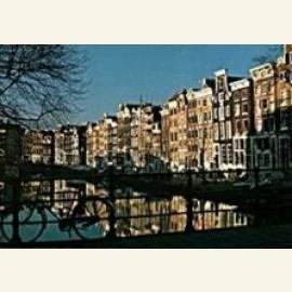 Morning on the Singel, Amsterdam